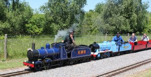8th June 2013 - Eastleigh Lakeside - Surrey Border & Camberley Railway and the Locomotives of HCS Bullock Day - 2007 Firefly & 1001