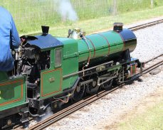 8th June 2013 - Eastleigh Lakeside - Surrey Border & Camberley Railway and the Locomotives of HCS Bullock Day - 1002 The Empress