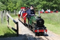 8th June 2013 - Eastleigh Lakeside - Surrey Border & Camberley Railway and the Locomotives of HCS Bullock Day