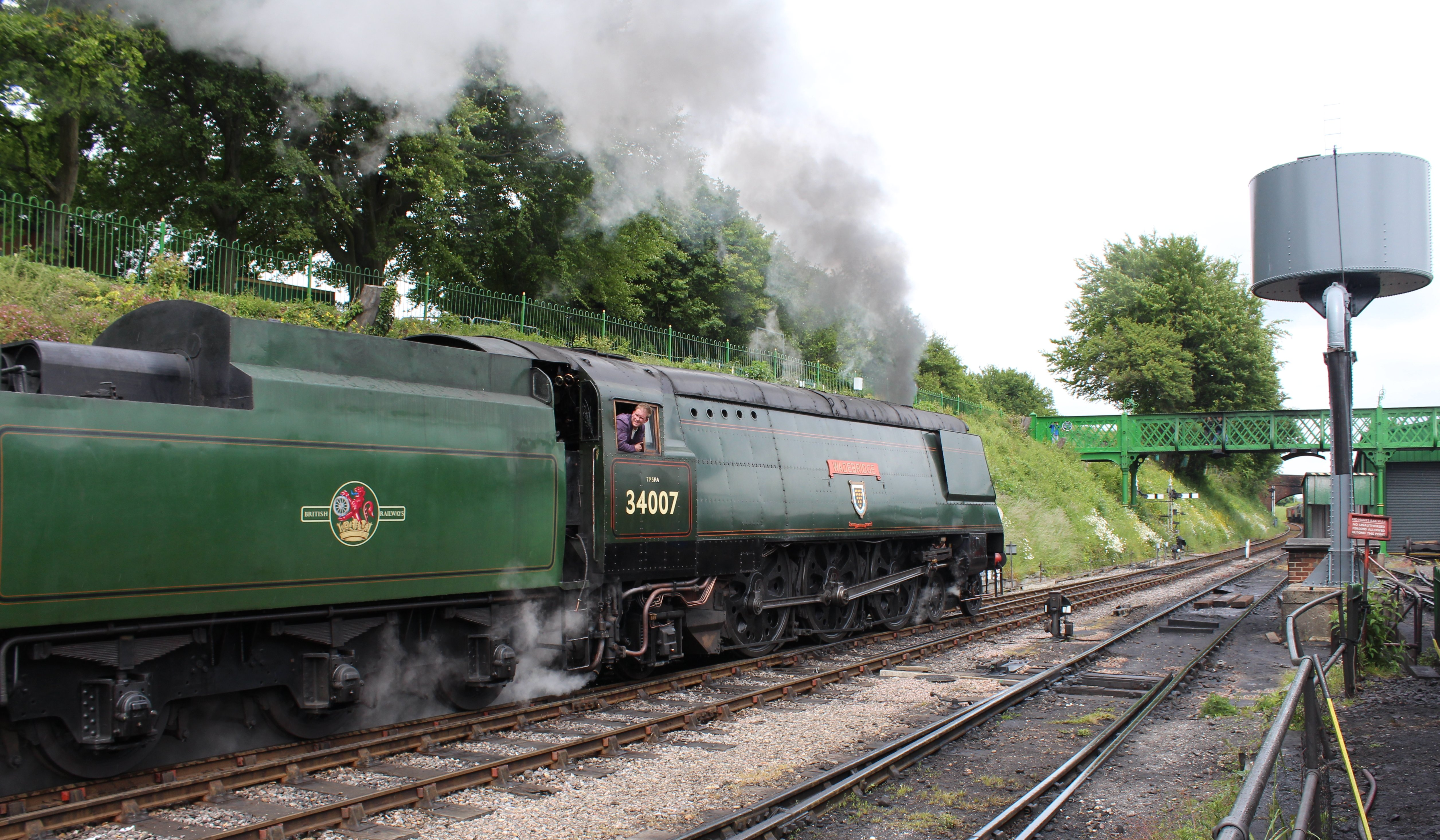 34007 >> 2013 Watercress Line Ropley Unrebuilt West Country Class