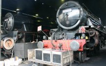 2011 - North York Moors Railway - Grosmont - Ex-LMS Black 5 - 45212 Roy Corky Green & 44767 George Stephenson
