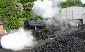 2011 - North York Moors Railway - Grosmont - Ex-LMS Black 5 - 45212 Roy Corky Green