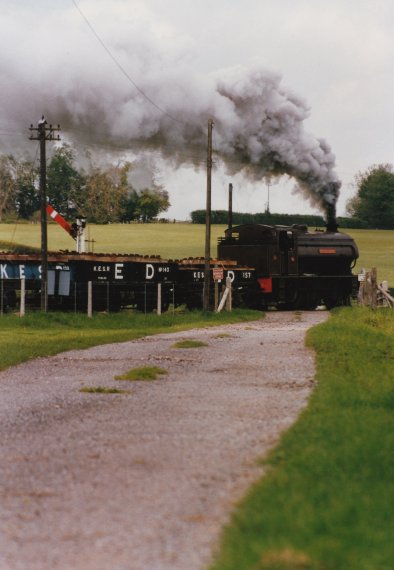 1997 - Kent & East Sussex Railway - Rolvenden for Tenterden (Tenterden Bank) - 23 Holman F Stephens