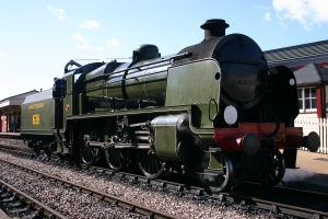 2012 - Bluebell Railway - Sheffield Park - Southern U Class 1638