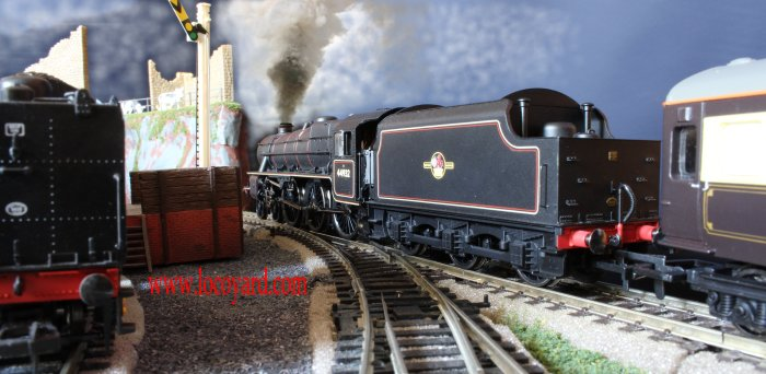 Locoyard - Hornby Stanier Ex-LMS Black 5 5MT 44932