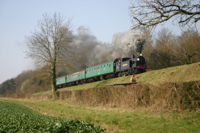 2012 Spring Steam Gala - Watercress Line - Bowers Grove Lane - M7 53