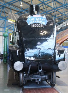 2013 National Railway Museum York - The Great Gathering - BR A4 60008 Dwight D Eisenhower