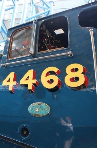 2013 National Railway Museum York - The Great Gathering - LNER A4 4468 Mallard