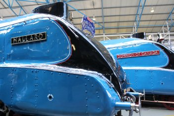 062 - 2013 National Railway Museum York - The Great Gathering - LNER A4 4468 Mallard & 4489 Dominion of Canada