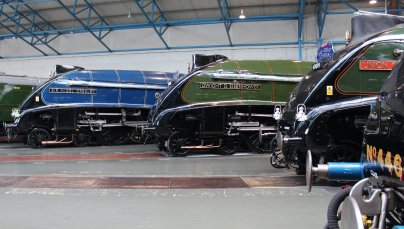 2013 National Railway Museum York - The Great Gathering - BR LNER A4 Pacifics