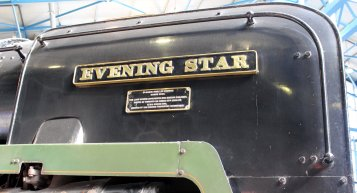 2013 National Railway Museum York - The Great Gathering - BR Standard 9F 92220 Evening Star smoke deflector