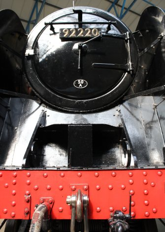2013 National Railway Museum York - The Great Gathering - BR Standard 9F 92220 Evening Star smokebox