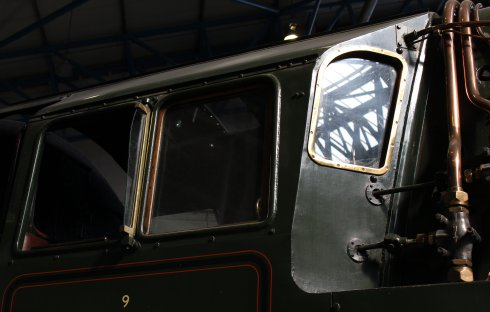 2013 National Railway Museum York - The Great Gathering - BR Standard 9F 92220 Evening Star cab
