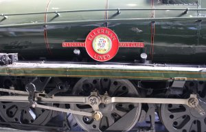 2013 National Railway Museum York - The Great Gathering - BR Merchant Navy 35029 Ellerman Lines - nameplate