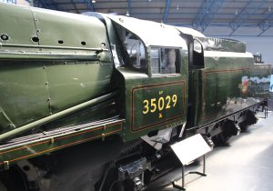 2013 National Railway Museum York - The Great Gathering - BR Merchant Navy 35029 Ellerman Lines