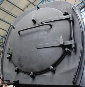 2013 National Railway Museum York - The Great Gathering - Southern Bulleid Q1 class - C1 smokebox
