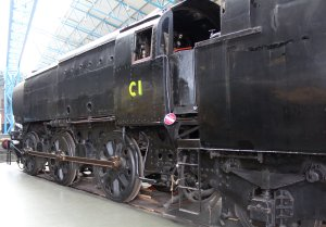 2013 National Railway Museum York - The Great Gathering - Southern Bulleid Q1 class - C1