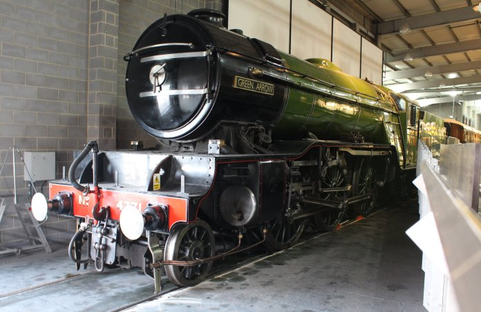2013 National Railway Museum York - The Great Gathering - LNER V2 - 4771 Green Arrow