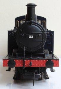 Locoyard Bachmann Jinty 3F S&DJR - 23 (smokebox front)