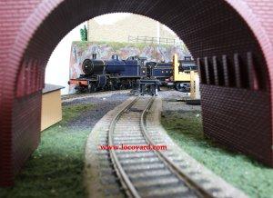 Locoyard - Bachmann - SDJR 7F 88 (bridge arch)