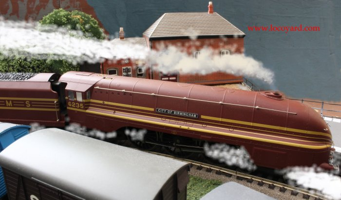 Locoyard - Hornby streamilined - LMS Princess Coronation class 6235 City of Birmingham
