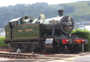 2013 Paignton and Dartmouth Railway - Kingswear - GWR 52xx 2-8-0T Class - 5239 Goliath