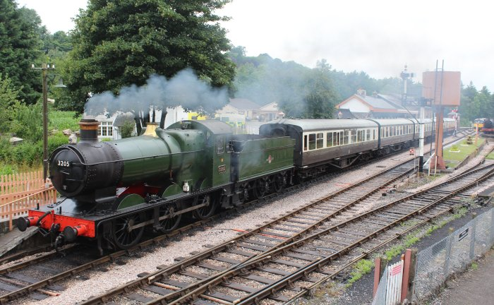 2013 South Devon Railway - Buckfastleigh - GWR 2251 Collett Goods Class - 3205