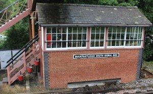 2013 South Devon Railway - Buckfastleigh - signal box