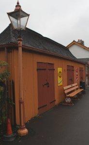 2013 South Devon Railway - Buckfastleigh - station Pagoda hut