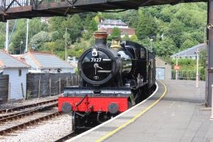2013 Paignton and Dartmouth Railway - Kingswear - BR 72xx 4-6-0 Class - 7827 Lydham Manor