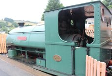 2013 South Devon Railway - Buckfastleigh - Peckett 0-4-0ST - R4 Lady Angela