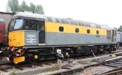2013 South Devon Railway - Buckfastleigh - class 33 Crompton - D6501 (33 002) Sea King