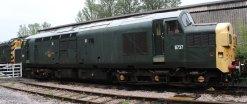 2013 South Devon Railway - Buckfastleigh - class 37 D6737 (37 037 Loch Treig)