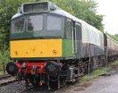 2013 South Devon Railway - Buckfastleigh - BR class 25 Bo-Bo D7541 (25 191)