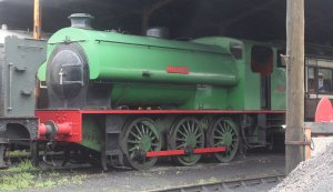 2013 South Devon Railway - Buckfastleigh - Hunslet Austerity 0-6-0ST Glendower