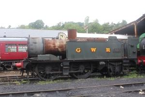 2013 South Devon Railway - Buckfastleigh - GWR 14xx class 0-4-2T 1420 (4820)