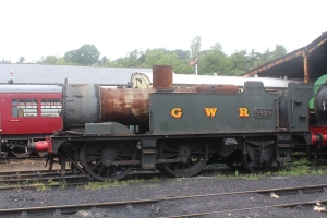 2013 South Devon Railway - Buckfastleigh - GWR 14xx class 0-4-2T 1420 (4820)