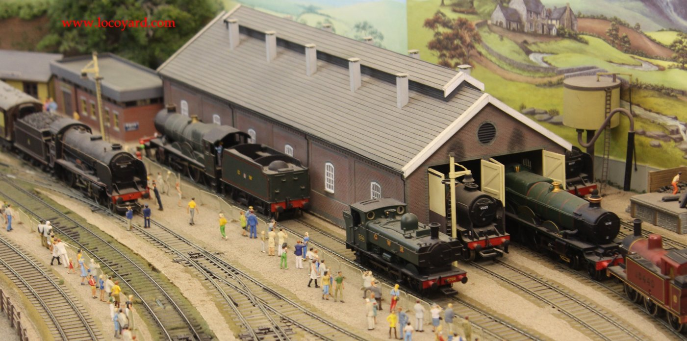 Pecorama The Loft Extension Cramore Steam Town Engine