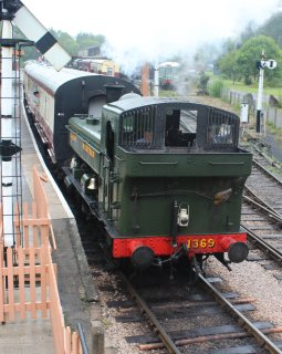 2013 South Devon Railway - Buckfastleigh - GWR 1366 Pannier Tank Class - 1369