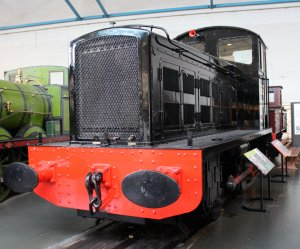 2013 National Railway Museum York - The Great Gathering - LMS 7050 0-4-0D Drewry Car Co