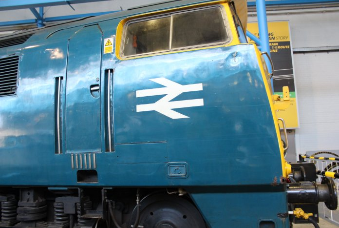 2013 National Railway Museum York - The Great Gathering - British Rail class 52 diesel locomotive D1023 Western Fusilier