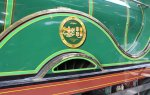 2013 National Railway Museum York - The Great Gathering - SECR D Class 4-4-0 737 coat of arms