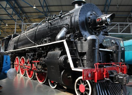 2013 National Railway Museum York - The Great Gathering - 1935 Chinese Government Railways 4-8-4 KF7 Class Vulcan Foundry