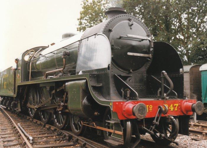 1996 - Bluebell Railway - Sheffield Park - S15 class 847