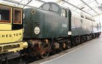 2013 National Railway Museum York - The Great Gathering - Class 40 pioneer D200