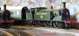 Locoyard - Hornby Southern Railways Ex-LSWR M7 tank 51