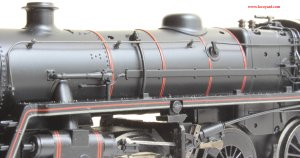 Locoyard Model Reveiw - Bachmann BR Standard 4MT class - 76079 (boiler fittings)