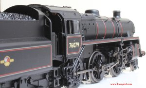 Locoyard Model Reveiw - Bachmann BR Standard 4MT class - 76079 (side)