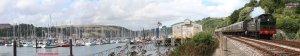 PDSR Kingswear River Dart Dartmouth 2013 - GWR 52xx - 5239 Goliath