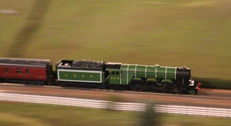 Trago Mills 00 Scale Model Railway - 2013 (25) 4472 Flying Scotsman